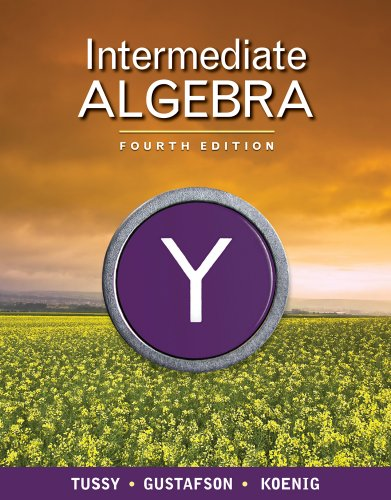 Intermediate Algebra  4th 2011 9780538734028 Front Cover