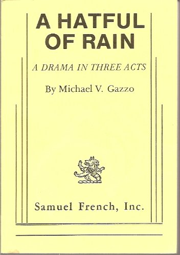 A Hatful of Rain:  1st 1984 edition cover