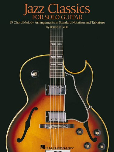 Jazz Classics for Solo Guitar  N/A edition cover