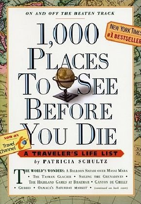 1,000 Places to See Before You Die 2010   2010 edition cover