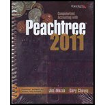 COMPUTERIZED ACCT.W/PEACHTREE 2011-W/CD N/A 9780763844028 Front Cover