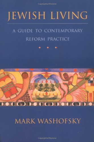 Jewish Living A Guide to Contemporay Reform Practice  2000 edition cover