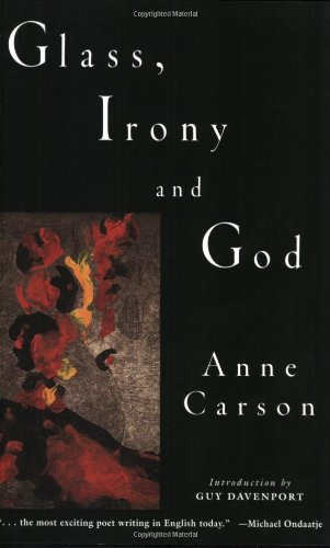 Glass, Irony and God   1995 edition cover