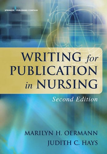 Writing for Publication in Nursing  2nd 2011 edition cover