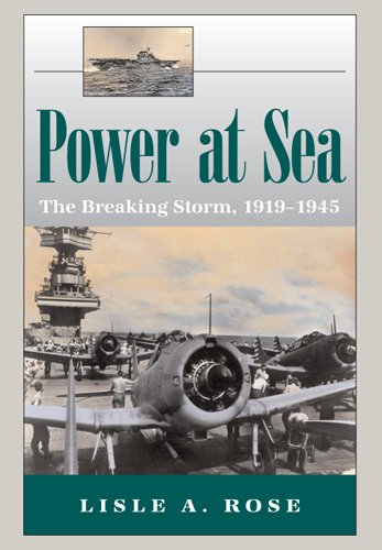 Power at Sea The Breaking Storm, 1919-1945  2007 edition cover