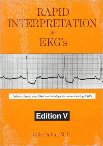Rapid Interpretation of EKG's  5th 1996 edition cover