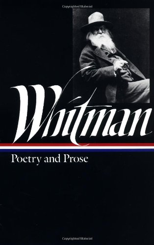 Whitman Poetry and Prose  1982 edition cover