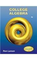 College Algebra 9th 2013 edition cover
