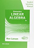 Elementary Linear Algebra:   2016 edition cover