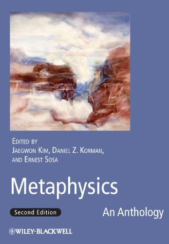 Metaphysics An Anthology 2nd 2010 edition cover