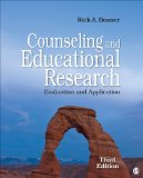 Counseling and Educational Research Evaluation and Application 3rd 2015 edition cover