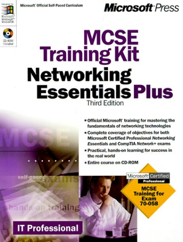 MCSE Training Kit Networking Essentials Plus 3rd 2000 edition cover