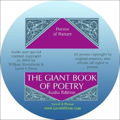 Giant Book of Poetry Audio Edition : Poems of Nature  2007 9781933769028 Front Cover