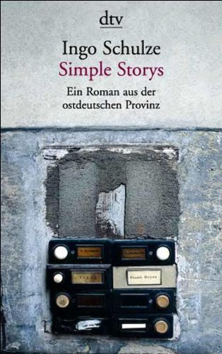 SIMPLE STORYS:EIN ROMAN AUS DE 1st edition cover