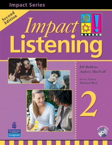 Impact Listening 2  2nd 2007 (Student Manual, Study Guide, etc.) edition cover
