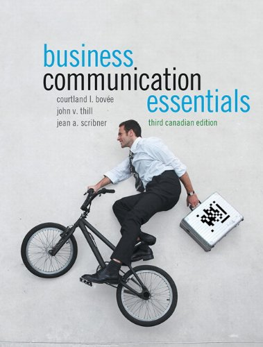 Business Communication Essentials  3rd 2013 9780132881029 Front Cover
