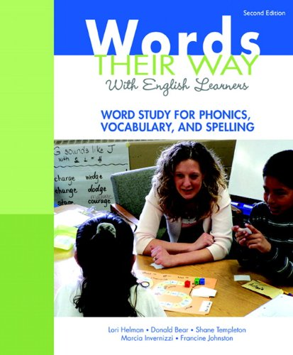 Words Their Way with English Learners Word Study for Phonics, Vocabulary, and Spelling 2nd 2012 (Revised) edition cover