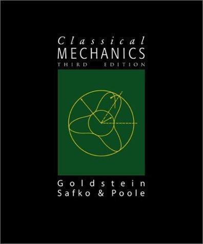 Classical Mechanics  3rd 2002 edition cover