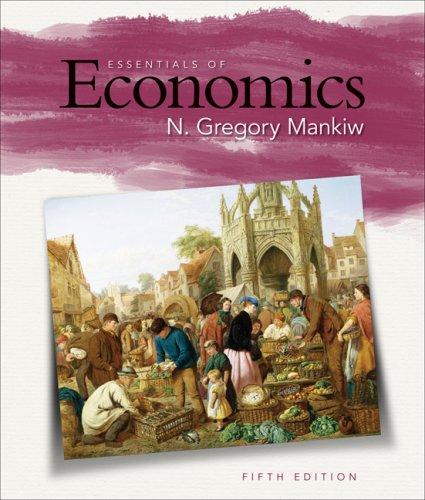 Essentials of Economics  5th 2009 edition cover