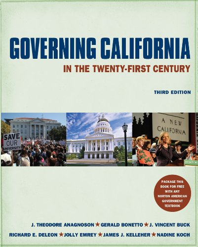Governing California in the Twenty-First Century  3rd 2011 edition cover