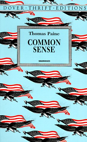 Common Sense   1997 (Reprint) 9780486296029 Front Cover