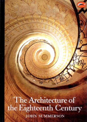 Architecture of the Eighteenth Century   1986 edition cover