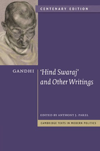 'Hind Swaraj' and Other Writings  2nd 2009 (Revised) edition cover
