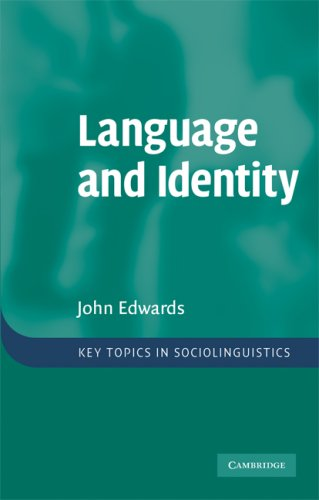 Language and Identity An Introduction  2009 edition cover