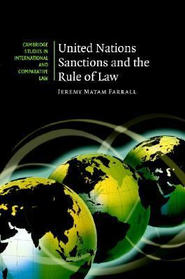 United Nations Sanctions and the Rule of Law   2007 9780521878029 Front Cover