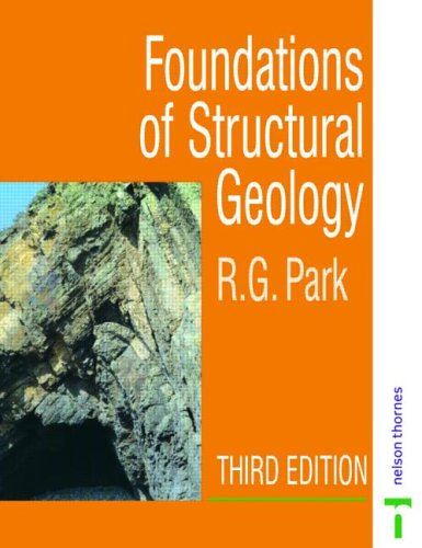 Foundations of Structural Geology  2nd 1998 (Revised) edition cover