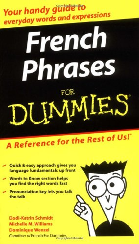 French Phrases for Dummies   2004 edition cover