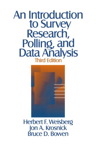 Introduction to Survey Research, Polling, and Data Analysis  3rd 1996 edition cover