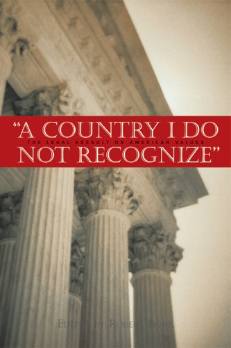 Country I Do Not Recognize The Legal Assault on American Values  2005 edition cover