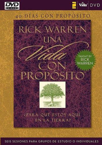 40 d�as con prop�sito - DVD Estudio de seis semanas individual o en Grupos N/A 9780829756029 Front Cover