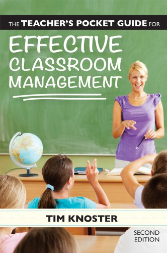 Teacher's Pocket Guide for Effective Classroom Management  2nd 2014 edition cover
