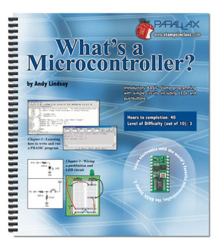 What's a Microcontroller? : Student Guide for Experiments #1-#6 Version 1.4 1st 2003 edition cover