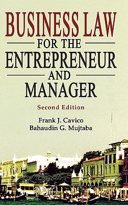 Business Law for the Entrepreneur and Manager  N/A edition cover