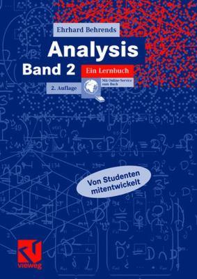 Analysis, Band 2: Ein Lernbuch  2007 9783834801029 Front Cover
