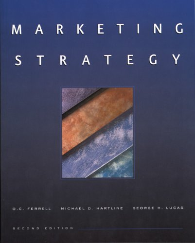 Marketing Strategy  2nd 2002 9780030321030 Front Cover