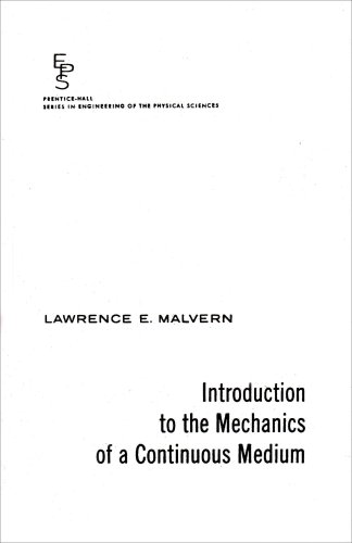 Introduction to the Mechanics of a Continuous Medium  1st 1977 edition cover