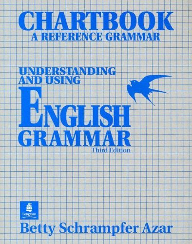 Understanding and Using English Grammar Chartbook  3rd 1999 edition cover
