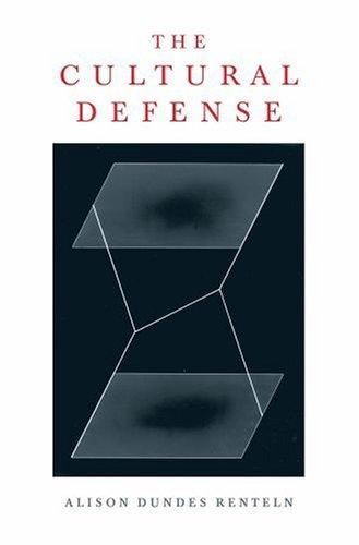 Cultural Defense   2004 edition cover