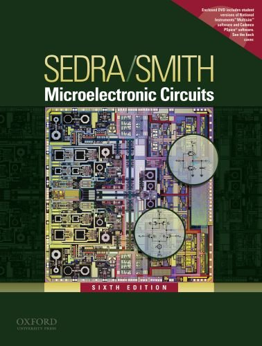 Microelectronic Circuits  6th edition cover
