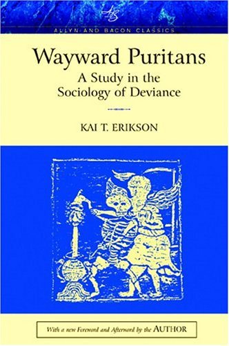 Wayward Puritans A Study in the Sociology of Deviance  2005 edition cover