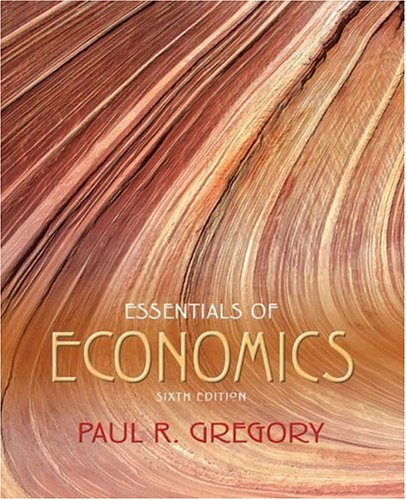 Essentials of Economics  6th 2005 (Revised) 9780321238030 Front Cover