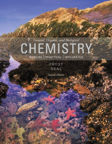 General, Organic, and Biological Chemistry  2nd 2014 9780321803030 Front Cover