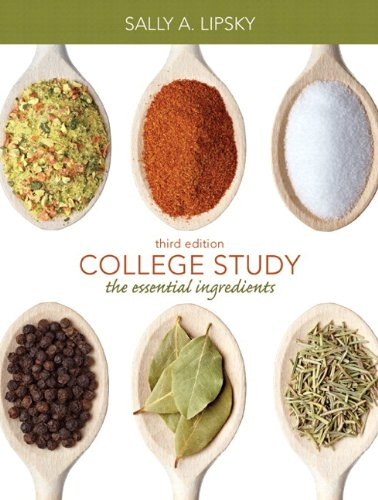 College Study The Essential Ingredients 3rd 2013 edition cover