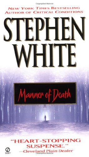 Manner of Death   1999 (Reprint) edition cover