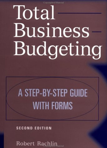 Total Business Budgeting A Step-by-Step Guide with Forms 2nd 1999 (Revised) edition cover