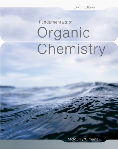 Fundamentals of Organic Chemistry  6th 2007 edition cover